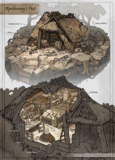 Apothecary Hut