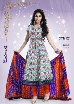 Eid Wear Newest Cotton Suits Collection 2015 (6)