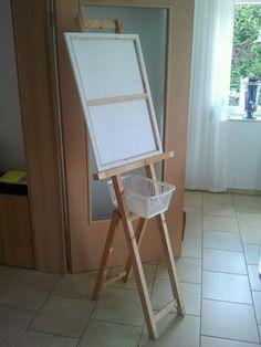 einfache staffelei selber bauen bauanleitung kunst k nstler kunstgeschichte pinterest. Black Bedroom Furniture Sets. Home Design Ideas