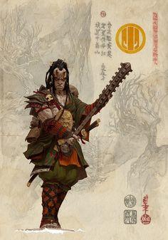 Bushi del Clan Tortuga.