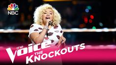 """The Voice 2017 Knockouts - Aaliyah Rose: """"Like I'm Gonna Lose You"""""""