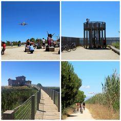 Nos vamos a hacer una pequeña excursión de unos 7 km (ida y vuelta) por El Delta de Llobregat,  que se puede hacer tanto caminando como ...