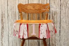 Strawberry Burlap High Chair Banner, Strawberry 1st First Birthday, Berry 1st Birthday, Red and Pink, Strawberry Shortcake Birthday www.etsy.com/shop/photogramomprops