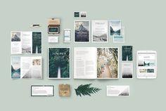 J U N I P E R  Branding Bundle! by 46&2 Collective on @creativemarket