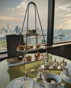 Afternoon tea with a view Mobile Photography, Business Travel, Afternoon Tea, Bangkok, In This Moment, Awesome, Instagram