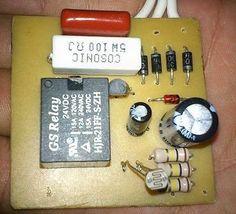Interruptor crepuscular para luz automatica (LDR y relé)