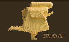3D Printing: Life in 3D #3dPrinteresting #3dPrinting