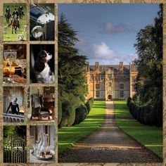English Country Manor..... Collage Dreams  Fbook: https://www.facebook.com/pages/Collage-dreams/639188992814078?sk=info&tab=page_info http://www.hetlijstjevanbrocante.nl/