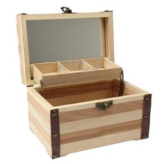 Portable Rectangle Shape Wooden Jewelry Box 15.9 x 11.0 x 10.2cm-in Jewelry Packaging & Display from Jewelry on Aliexpress.com | Alibaba Group