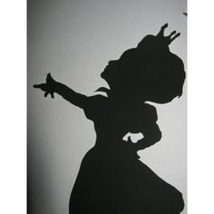 The Red Queen (Alice in Wonderland) Silhouette found on Polyvore featuring polyvore, home, kitchen & dining and kitchen gadgets & tools