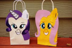 My Little Pony favor gift bags