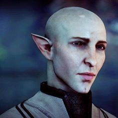 Solas, I love your face!