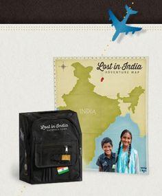 Free Online Global Adventure: Lost in India #homeschool #freehomeschool