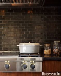 4 Active Tricks: Inexpensive Backsplash Diy copper backsplash tile.Inexpensive Backsplash Style tin tile backsplash.Backsplash Alternatives Bathroom.. Subway Tile Kitchen, Kitchen Backsplash, Backsplash Ideas, Black Backsplash, Beadboard Backsplash, Herringbone Backsplash, Subway Tiles, Lowes Backsplash, Interiors