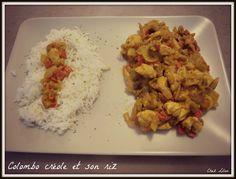 Colombo créole et son riz