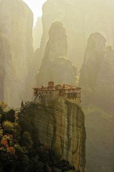 Les monastères des Météores, Grèce