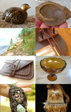 Amber colors of Autumn  by Julie Hickman on Etsy--Pinned with TreasuryPin.com