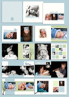 Small Prints Baby Album $25.00