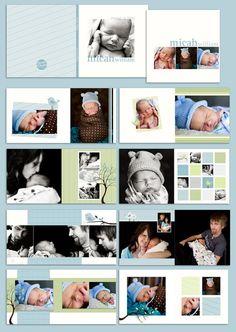 Small Prints Baby Album