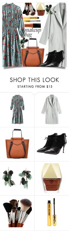 """""""Brown handbag!"""" by dzenanlevic99 ❤ liked on Polyvore featuring Marni, Kendra Scott and Nasty Gal"""
