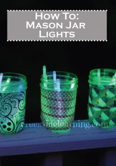 Make your summer nights glow with these easy and fun DIY Mason Jar Lights!