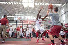 Basketball during Homecoming weekend #WSU #GoCougs