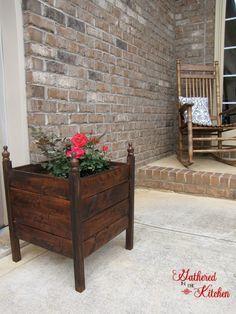 $12 DIY planter Box...possible 5 yr anniversary gift?