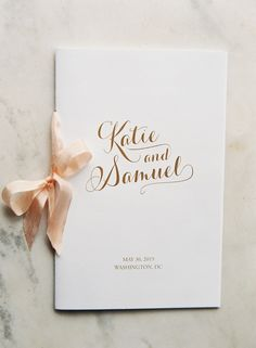 Wedding Ceremony Schedule Design For 2019 Wedding Booklet, Wedding Party Invites, Classic Wedding Invitations, Wedding Stationary, Wedding Paper, Wedding Cards, Diy Wedding, Trendy Wedding, Party Invitations