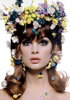 vintagegal: Jean Shrimpton photographed by bert Stern, 1965 (via)