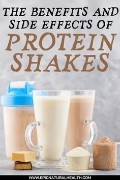 Everybody's heard of protein shakes nowadays. They're advertised as an effective way to give your body a hit of nutrients, with protein of course being the key focus, to help you perform better at the gym and maintain a healthy lifestyle. On the surface, protein shakes look like a win-win all round. But, like any natural health supplement, they have their side effects. Health And Beauty Tips, Health And Wellness, Health Tips, Health Fitness, Herbal Remedies, Health Remedies, Natural Remedies, Nutrition Plans, Nutrition Tips