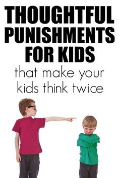 Discipline takes thoughtful punishments for kids to help them feel in control and not likely to repeat. These ideas to help with discipline help create kindness and thoughtfulness especially amongst siblings. Discipline ideas, punishments for kids. Single Parenting, Parenting Advice, Punishment For Kids, Sibling Relationships, Positive Discipline, Parenting Toddlers, Behavior Management, Raising Kids, Child Development