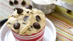 easy and delicious eggless cookie dough recipe that you can eat raw.