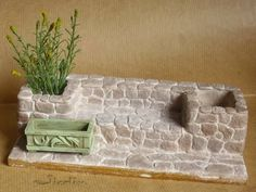 Miniatures Barbie, Dollhouse Miniatures, Christmas Crafts, Christmas Decorations, Diy Dollhouse, Origami, Sewing Tutorials, Planting Flowers, Projects To Try