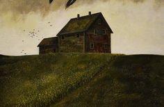 "Andrea Kowch Studio Blog: ""Crow's Song"""