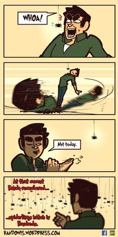 RandoWis :: Spiders | Tapastic Comics - image 1