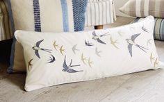 Blue Birds Cushion