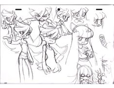 The Art of Yoh Yoshinari Rough Sketches Art Book - Anime Books