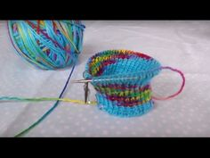 "Sock knitting tutorial on 9"" circular needles part 2 - YouTube"