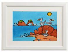 Buy Seagulls on the beach, Acrylic painting by Mariusz Kozak on Artfinder. Oil Painting On Canvas, Winnie The Pooh, Disney Characters, Fictional Characters, Beach, Art, Art Background, Winnie The Pooh Ears, The Beach
