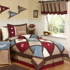 Sweet Jojo Designs 4-piece Boys All Star Sports Twin Comforter Set | Overstock.com Shopping - Great Deals on Sweet Jojo Designs Kids' Bedding