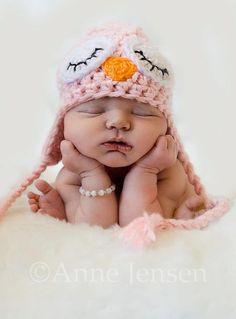 Newborn picture - Yep, that's my girl! My photographer Anne is amazing!