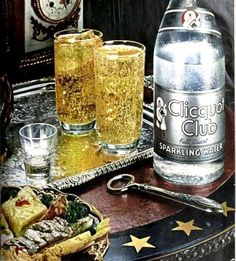 Clicquot Club Sparkling Water 1947