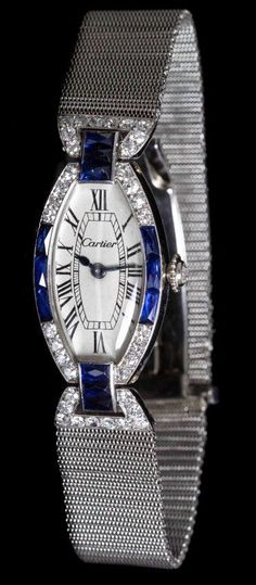 An Art Deco Platinum Cartier beauty bling jewelry fashion