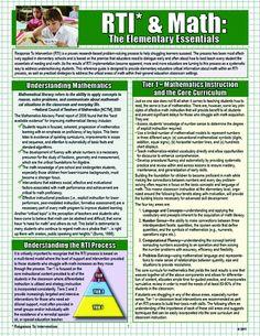 RTI & Math: The Elementary Essentials: Karen Kemp: 9781935609469: Amazon.com: Books
