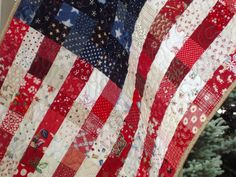 Old Glory Quilt/Flag