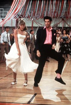 John Travolta and Olivia Newton-John - Grease (1978)