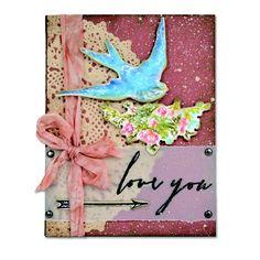 Love You Bird Card #2