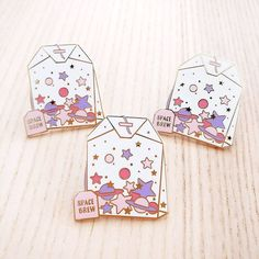 """Shop """"space brew"""" - hard enamel pin from Pinktofu art in Brooches & lapel pins, available on Tictail from kr Illustration Inspiration, Retro, Bag Pins, Jacket Pins, Hard Enamel Pin, Pin Enamel, Stickers, Cool Pins, Pin And Patches"""