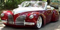 1939 Lincoln Zephyr Custom Convertible