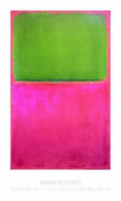 love rothko, saw his exhibition at the tate modern and was really disappointed with how they displayed it